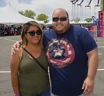 Erica and Jake during the Cinco de Mayo festival held at the Grand Sierra Resort in Reno, Nevada  on Saturday, May 5, 2018.