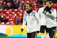 Mario Goetze (Deutschland, Germany) gut drauf  bei der Nationalmannschaft - 10.11.2017: England vs. Deutschland, Freundschaftsspiel, Wembley Stadium