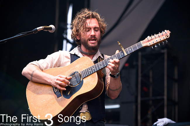 John Butler of the John Butler Trio performs during the All Good Music Festival at Legend Valley in Thornville, Ohio.