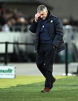 FUSSBALL   1. BUNDESLIGA    SAISON 2012/2013    9. Spieltag   Hannover 96 - Borussia Moenchengladbach         28.10.2012 Trainer Mirko Slomka (Hannover 96)