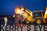 Road workersMaurice Guerin, Charlie Slattery and Thomas Wharton Kerry County council prepare for another night of griting the roads of Kerry.
