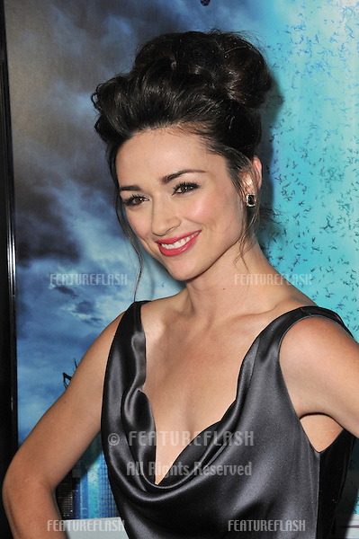 "Crystal Reed at the world premiere of her new movie ""Skyline"" at the Regal Cinema at L.A. Live in downtown Los Angeles..November 9, 2010  Los Angeles, CA.Picture: Paul Smith / Featureflash"