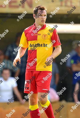2014-07-27 / Voetbal / seizoen 2014-2015 / KFC Duffel / Jorn Rijmenams<br /><br /><br />Foto: mpics.be