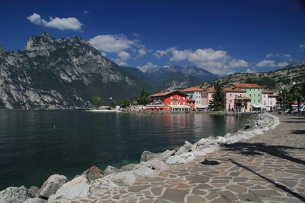 Lake Garda, Dolomites, northern Italy, Europe.