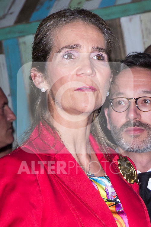 "07.06.2012. Princess Elena of Spain Inauguration of the 4th Edition of the International Exhibition of Photography ""Madridfoto"" at Matadero in Madrid. In the image Princess Elena de Borbon (Alterphotos/Marta Gonzalez).."