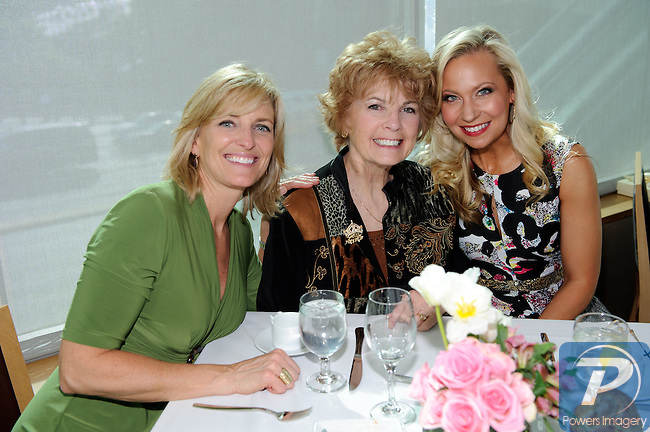 Sharlene Hawkes (M.A. 1985) Jackie Mayer (MA 1963), Katie Harmon Ebner (MA 2002) at the 90th Anniversary Miss America luncheon held at Nieman Marcus inside the Fashion Show Mall, Las Vegas, NV, January 13, 2011 © Al Powers / Vegas Magazine