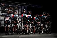 Team Hagen Berman Axeon pre race team presentation<br /> <br /> Bredene Koksijde Classic (2019) ( former Handzame Classic )<br /> Bredene > Koksijde 199km (BEL)<br /> <br /> ©kramon