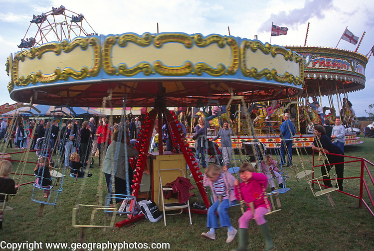 A293HC Traditional fairground rides
