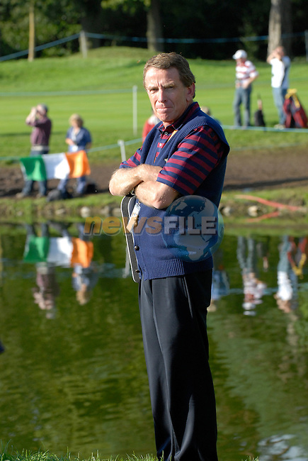 September 24th, 2006. European  Ryder Cup team player during the singles final session of the last day of the 2006 Ryder Cup at the K Club in Straffan,. County Kildare in the Republic of Ireland...Photo: Eoin Clarke/ Newsfile.