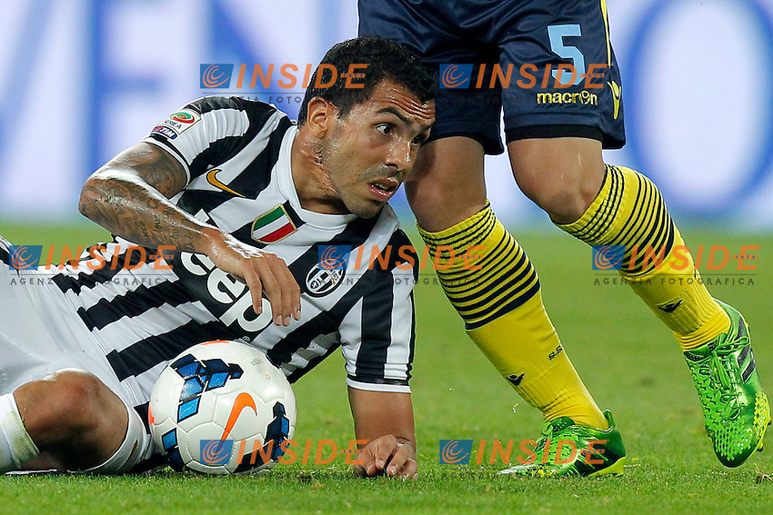 Carlos Tevez Juventus, <br /> Torino 31-08-2013<br /> Juventus Stadium <br /> Football Calcio 2013/2014 Serie A <br /> Juventus - Lazio <br /> Foto Marco Bertorello Insidefoto