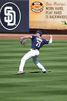 Hunter Renfroe - San Diego Padres 2016 spring training (Bill Mitchell)