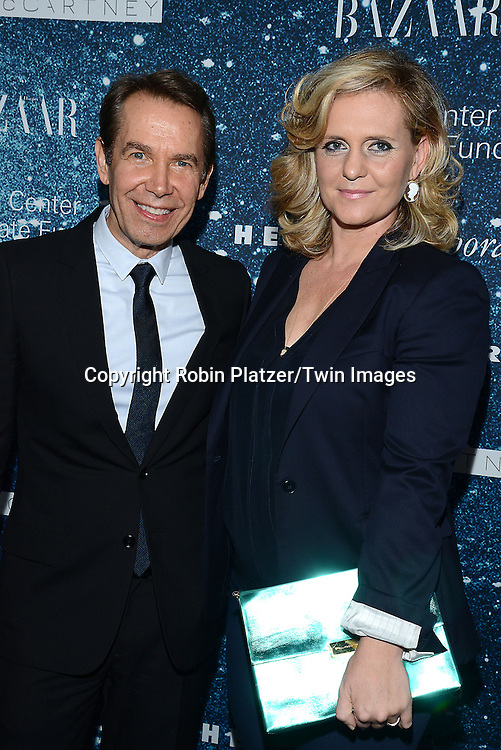 Jeff Koons and wife Justine Koons attend the Stella McCartney Honored by Lincoln Center at Gala on November 13, 2014 at Alice Tully Hall in New York City, USA. She was given the Women's Leadership Award which was presented bythe LIncoln Center for the Performing Arts' Corporate Fund.<br /> <br /> photo by Robin Platzer/Twin Images<br />  <br /> phone number 212-935-0770