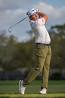 Eddie Pepperell (ENG) watches his tee shot on 14 during round 3 of the Arnold Palmer Invitational at Bay Hill Golf Club, Bay Hill, Florida. 3/9/2019.<br /> Picture: Golffile | Ken Murray<br /> <br /> <br /> All photo usage must carry mandatory copyright credit (&copy; Golffile | Ken Murray)