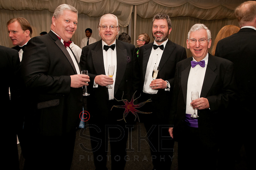 From left are Michael Auty QC, His Honour Judge Michael Stokes QC, Andrew Vout and His Honour Judge Andrew Hamilton QC