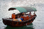 BUMBOAT on the SINGAPORE RIVER<br />