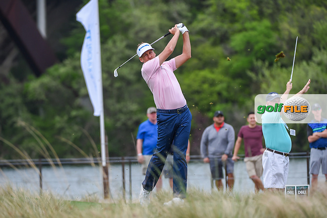 Ian Poulter (GBR) watches his tee shot on 13 during day 3 of the WGC Dell Match Play, at the Austin Country Club, Austin, Texas, USA. 3/29/2019.<br /> Picture: Golffile | Ken Murray<br /> <br /> <br /> All photo usage must carry mandatory copyright credit (© Golffile | Ken Murray)