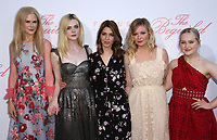 12 June 2017 - Los Angeles, California - Nicole Kidman, Elle Fanning, Director Sofia Coppola, Kirsten Dunst and Emma Howard. The Beguiled Premiere held at the Directors Guild of America. Photo Credit: AdMedia