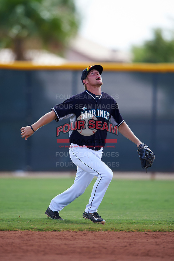 Seattle Mariners Nelson Ward (1) during an instructional league game against the Texas Rangers on October 5, 2015 at the Surprise Stadium Training Complex in Surprise, Arizona.  (Mike Janes/Four Seam Images)