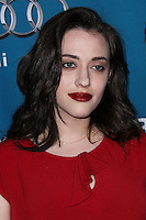 "WESTWOOD, LOS ANGELES, CA, USA - MARCH 22: Kat Dennings at the Geffen Playhouse's Annual ""Backstage At The Geffen"" Gala held at Geffen Playhouse on March 22, 2014 in Westwood, Los Angeles, California, United States. (Photo by Xavier Collin/Celebrity Monitor)"