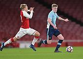 16/04/2018 Arsenal v Blackpool FAYC Semi 2L<br /> <br /> Brendan O'Brien