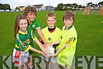 Kelan Enright, Calum Heuston, Sean Crowley, Paddy Moran at the St. Pats  Blennerville Family fun Day on Sunday