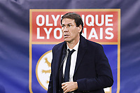 RUDI GARCIA (ENTRAINEUR LYON)<br /> Lione 5-11-2019 <br /> Olympique Lyon - Benfica <br /> Champions League 2019/2020<br /> Foto Anthony Bibard  / Panoramic / Insidefoto <br /> Italy Only
