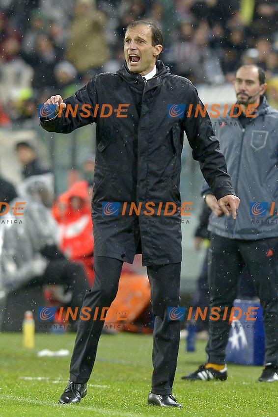 Massimiliano Allegri,<br /> Torino 04-11-2014, Juventus Stadium, Football Calcio 2014/2015 Champions League, Juventus - Olympiacos, foto Filippo Alfero/Insidefoto