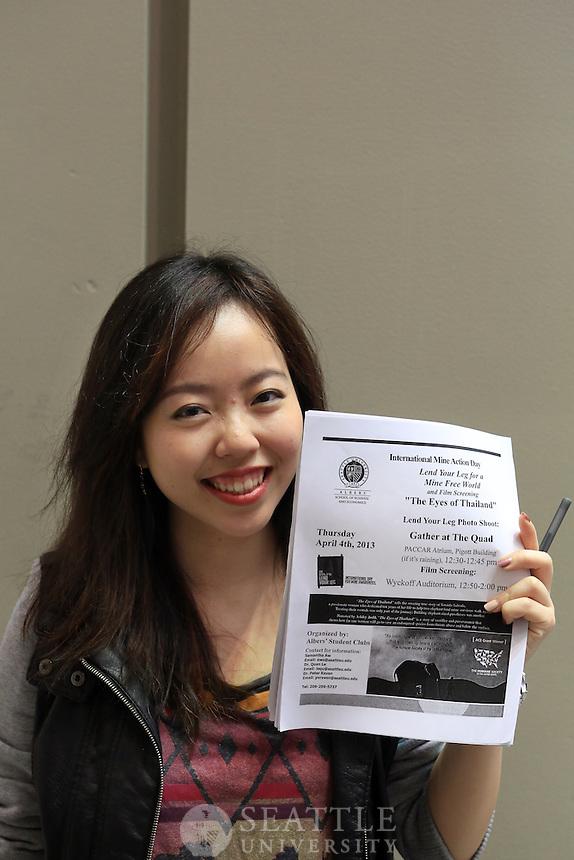 04042013- Landmine Awareness Day at Seattle University