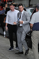 AUG 14 Mark Wahlberg at The Late Show with Stephen Colbert