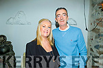 Jeffrey Horan from O'Rahilly's Villas celebrating his birthday with his wife Anita, in Bella Bia on Friday.