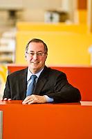 Portraits of Paul Otellini - Intel CEO - 2011
