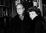 Neil Simon and Marsha Mason Attending a Broadway show in New York City.<br />