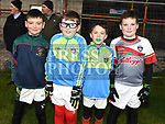 Seamus Murphy, Liam Lynch, Michael Gogarty and Fionn McLoone  at the Anthony Doonan memorial match in Donore. Photo:Colin Bell/pressphotos.ie