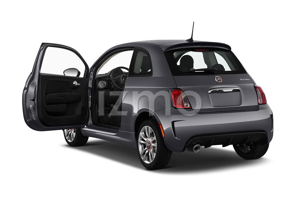 Car images of 2019 Fiat 500 Pop 3 Door Hatchback Doors