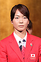 Miyuki Nakagawa (JPN), <br /> JULY 15, 2016 - Hockey : <br /> Japan women's national hockey team send-off party <br /> for the Rio 2016 Olympic Games in Tokyo, Japan. <br /> (Photo by AFLO SPORT)