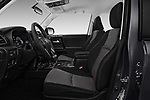 Front seat view of 2017 Toyota 4Runner Off-Road 5 Door SUV front seat car photos