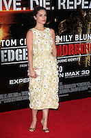 Charlotte Riley arriving at the premiere of 'Edge Of Tomorrow', at the IMAX, London. 28/05/2014 Picture by: Alexandra Glen / Featureflash