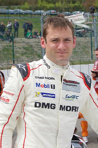 02.05.2015.  Spa-Francorchamps, Belgium. World Endurance Championship Round 2. Porsche Team LMP1 Hybrid Porsche 919 driver Nick Tandy.