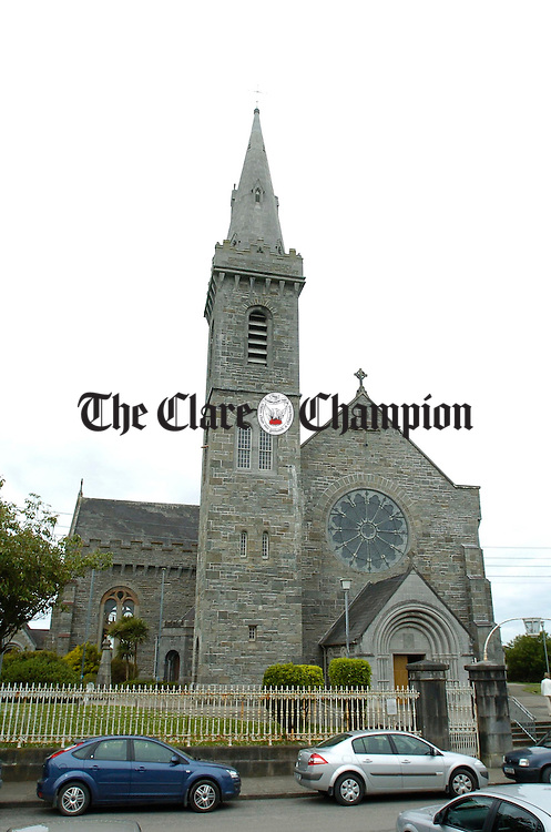 A view of Kilrush Church. Photograph by John Kelly.