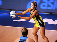 4th July 2020, Auckland, New Zealand;  Maddy Gordon.<br /> Central Pulse versus Southern Steel. ANZ Premiership Netball. Auckland Netball Centre, Saturday 4 July 2020.