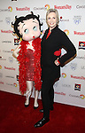 Betty Boop and Jane Lynch attend the 14th Annual Red Dress Awards presented by Woman's Day Magazine at Jazz at Lincoln Center Appel Room on February 7, 2017 in New York City.