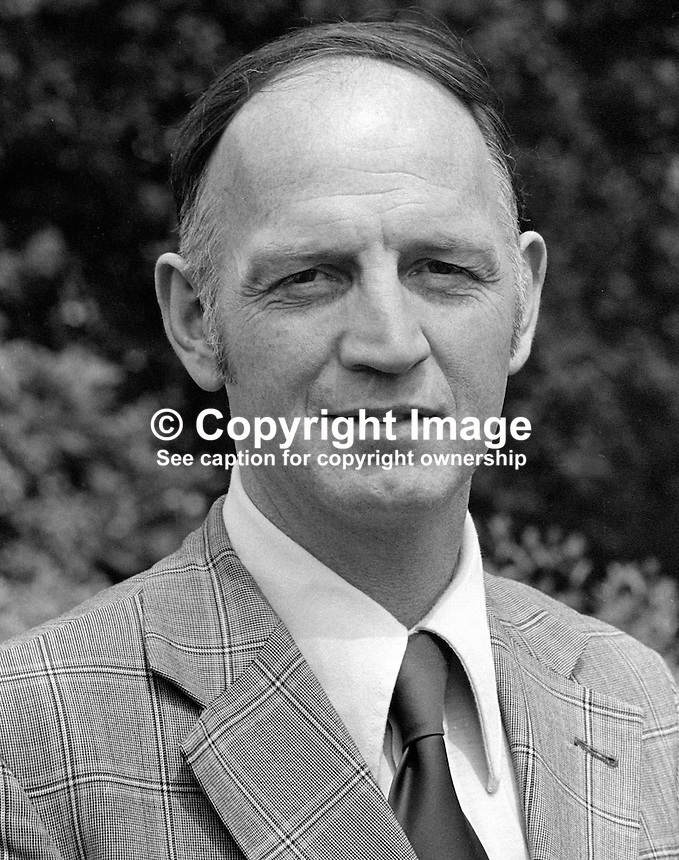 Raymond McClean, medical doctor, Londonderry, N Ireland, as a member of the SDLP he was mayor of the city with a nationalist viewpoint. 1978000099RMC1. <br />