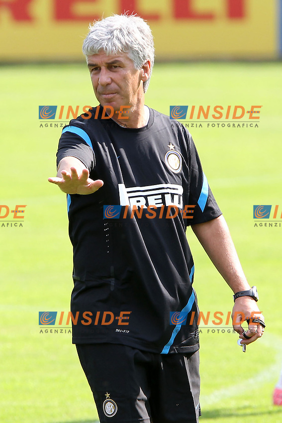 Pinzolo (TN) 10/07/2011.Football Inter FC summer training camp/ Calcio Ritiro estivo Inter FC .Giampiero Gasperini.Foto Paolo Nucci Insidefoto