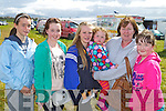 DAY OUT: Enjoying a day out at the Dingle races on Sunday were Hannah Moran, Caherdaniel, Emma Flannery, Dingle, Roisin Moran, Caherdaniel, Katie May Moran, Joan Moran and Sarah Flannery, Dingle..