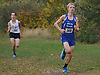 Kal Lewis of Shelter Island legs out the final stretch of the Suffolk County varsity boys cross country Division Championships at Sunken Meadow State Park on Thursday, Oct. 26, 2017. He took secod place in the 5K race.