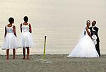 LAKE LANGANO - ETHIOPIA - 17 APRIL 2004 --An Ethiopian wedding at the Lake Langano in the East African Rift Valley. --PHOTO: JUHA ROININEN / EUP-IMAGES