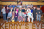 Anthony Murphy O'Connor, Killarney, pictured with his family and friends as he celebrated his 21st birthday in the Killarney Avenue Hotel on Saturday night. ......