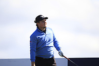 Eddie Pepperell (ENG) on the 5th tee during Round 4 of the Betfred British Masters 2019 at Hillside Golf Club, Southport, Lancashire, England. 12/05/19<br /> <br /> Picture: Thos Caffrey / Golffile<br /> <br /> All photos usage must carry mandatory copyright credit (© Golffile | Thos Caffrey)