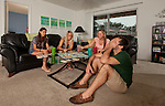 Student life at Venetian Villas Apartments near the Florida State University campus in Tallahassee, Florida.