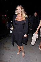 LONDON, ENGLAND - NOVEMBER 07 :  Lucy Zara attends The Paul Raymond Awards 2019, at the Cafe de Paris on November 07, 2019 in London, England.<br /> CAP/AH<br /> ©AH/Capital Pictures